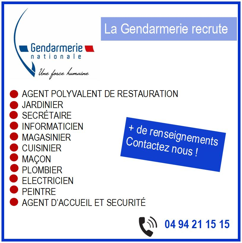 Gendaremerie Recrute_2020